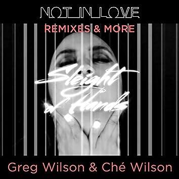 Not In Love (Remixes)