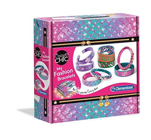 Clementoni - 18582 - Crazy Chic - My Fashion Bracelets -...