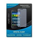 SWIDO Schutzfolie für Huawei Y5 [2 Stück] Kristall-Klar, Hoher Festigkeitgrad, Schutz vor Öl, Staub & Kratzer/Glasfolie, Bildschirmschutz, Bildschirmschutzfolie, Panzerglas-Folie