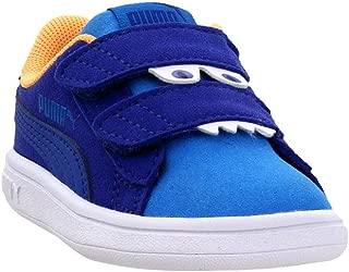 PUMA Boys Smash V2 Monster Infant Casual Sneakers,