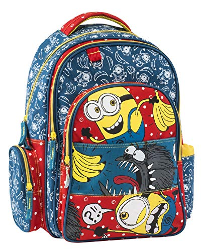 Minions Cartable, 44 cm, Multicolore