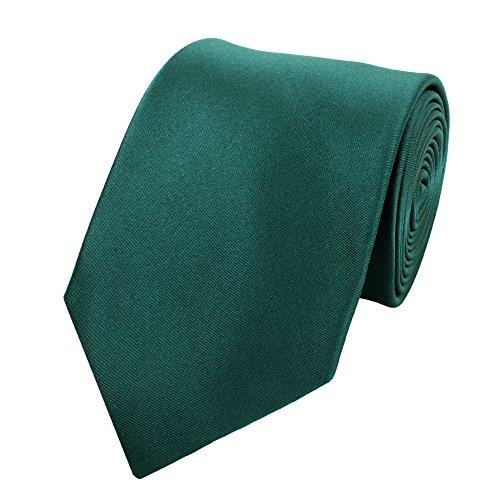 Fabio Farini - Elégante cravate pour homme unicolore en 8cm de large de différentes couleurs pour toutes les occasions comme le mariage, la confirmati