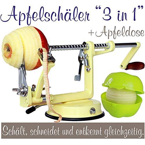 Apfelschälmaschine zum Apfelchips selber machen