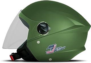 Capacete New Liberty Three Elite Verde Militar Fosco Tam. 56 - CAP-707GR Pro Tork