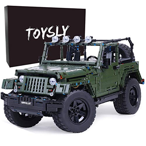 Toysly Technic Model Car Sets to Build for Adults, Model Building Kit for Kids, Building Blocks Model Truck Kits to Build, Build a Car and Engineering Building Kits for Boys (2096 Pieces)