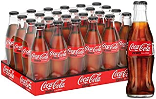 Coca-Cola Zero Carbonated Soft Drink, Glass bottle - 290ml (Pack of 24)