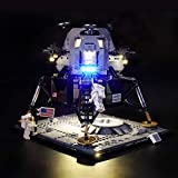 LIGHTAILING Light Set for (Creator NASA Apollo 11 Lunar Lander) Building Blocks Model - Led Light kit Compatible with Lego 10266(NOT Included The Model)