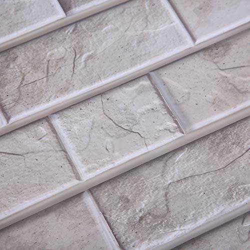 Rosvola Adhesivo para baldosas de cerámica, Adhesivos autoadhesivos duraderos y duraderos, Material de PVC de Calidad para el hogar del Dormitorio
