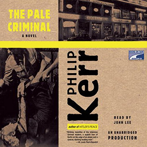 The Pale Criminal audiobook cover art