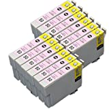 むさしのメディア EPSON(エプソン) ICLM50x12 (ライトマゼンタ12個パック) 互換インクカートリッジ ICチップ付き 残量表示対応