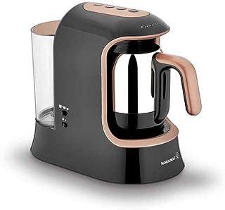 Korkmaz A862-02 kahvekolik aqua kahve makinesi siyah/rosagold
