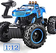NQD 43390-2304 Trucks Monster RC Car 1: 12 Scale Off Road Vehicle 2.4Ghz Radio Remote Control Car 4WD High Speed Racing All Terrain Climbing Car Gift