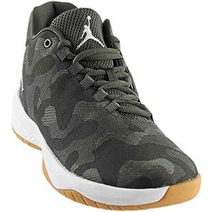 Jordan Boys' Basketball Shoes green river rock/white-dark stucco green Size 3/4 UK:Hashflur