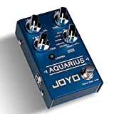 JOYO R-07 AQUARIUS Delay + LOOPER Multi Guitar Effect Pedal, Multieffects Pedal, with 8 Digital Delay Effects