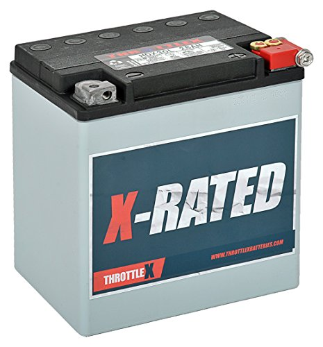 THROTTLEX HDX30L - MADE IN AMERICA - Harley Davidson, ATV and UTV Replacement Battery