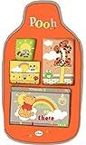 Disney - Organizador de coche Winnie, organizador de coche infantil, organizador de juguetes para...