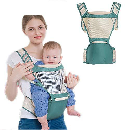 G-Tree Porte-bébé avec siège hanche, 3-in-1 Porte-convertible, 360 Sac à dos ergonomique Porte-bébé, Porte-bébé Wrap, avant et porte-bébé Retour enfant en bas âge porte-bébé