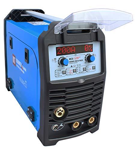 KRAMER 200 Schweißgerät MIG MAG 200amp FCAW ARC MMA GAS & ohne Gas FLUX IGBT Elektrodenschweißgerät Schutzgas Schweißmaschine 200Amp 200A E HAND