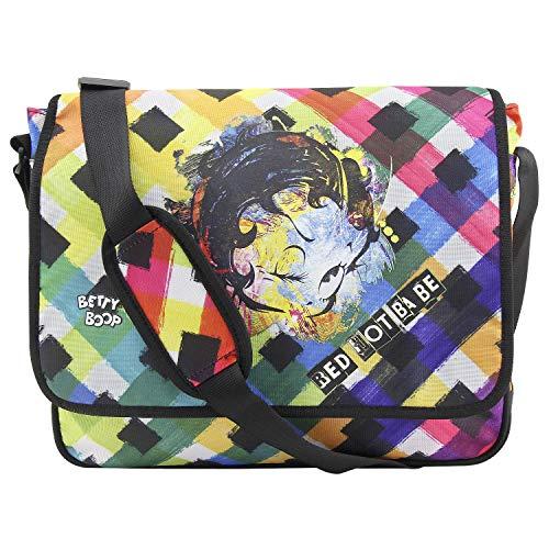 Target Shoulder Bag Betty Boop Umhängetasche, 40 cm, Mehrfarbig (Multicolore)