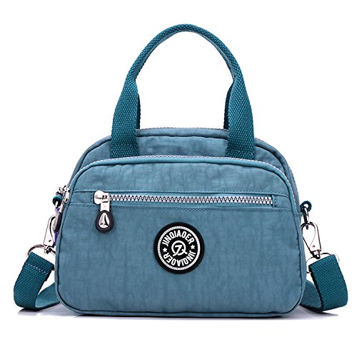 Outreo Bolso Bandolera Pequeña Bolso de Mano Mujer Bolsas de Deporte Moda Casual Ligero Bolsas de Impermeable Sport Bag para Escuela
