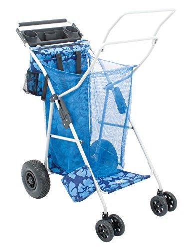 Rio Beach Brands Deluxe Ultra Wonder Wheeler Blue...
