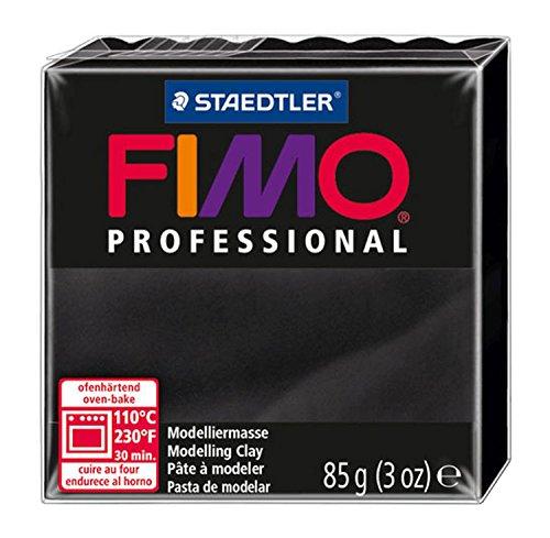 Staedtler 8004-9 - Fimo Professional Normalblock, 85 g, schwarz