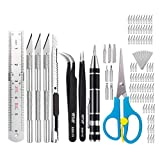 oshhni 105pcs Hobby Multi Función Craft Razor Blade Kit Precision Cutter DIY Set