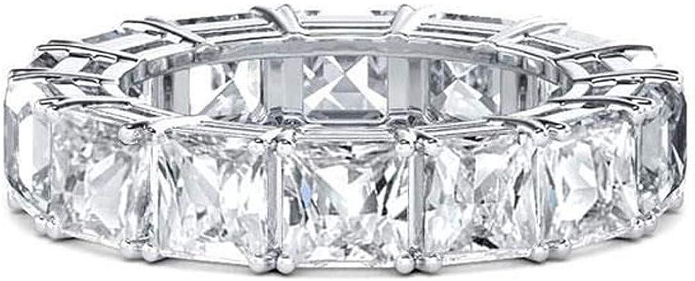 Gifts Dividiamonds 1 CT Princess Cut Max 85% OFF White G 14K D Diamonds VVS1