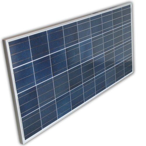 JWS-Solar 140Watt 12Volt Solarpanel Polykristallin