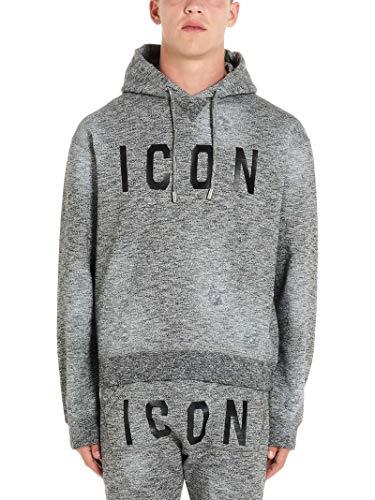 DSQUARED2 Luxury Fashion Herren S74GU0355S25385962 Grau Baumwolle Sweatshirt | Herbst Winter 19