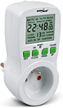 Yaoaofron SINOTIMER TM630S-4 7 Days Weekly LCD Digital Programmable Timer Switch with Interval 1 Second Power Direct Output White 12V