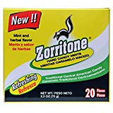Zorritone Cough Drops | Mint Flavored Central American Cough Lozenges for Fast Acting Cough Relief and Sore Throat Soothing from The Common Cold, Flu, and Allergies; 20 Pieces