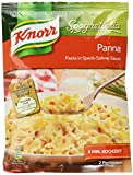 Knorr Spaghetteria Panna Fertiggericht Pasta (in Speck-Sahne-Sauce) 5 x 153 g