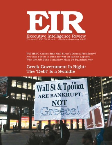 Executive Intelligence Review; Volume 42, Issue 9: Published February 27, 2015