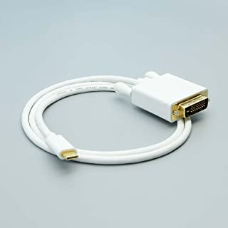 Huetron TM 3 Ft USB 3.1 Type C to DVI Male Cable for Motorola Moto Z Play Droid