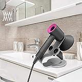 LISITIANL Secador de pelo Soporte de pelo del hogar Secador de Escuadra de pared dormitorio WC Cuarto de baño Secador de pelo del sostenedor del estante de almacenamiento
