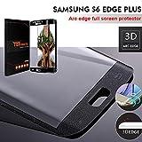TEFOMATE Galaxy S6 Edge Plus Protector de Pantalla, Vidrio Templado...