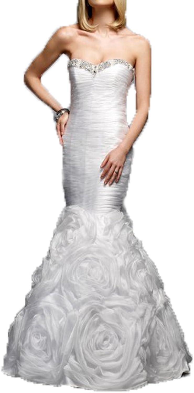 Ellenhouse Long Mermaid Evening Prom Party Dress Sweetheart Wedding Dress EL246