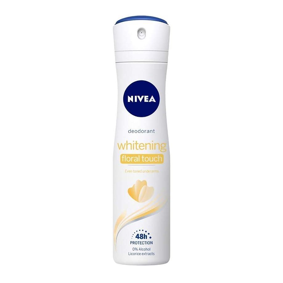 リマーク職業地球Nivea Whitening Floral Deodorant For Women, 150ml(Ship from India)
