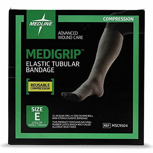 Medline Industries MSC9504 Medigrip Tubular Bandages, Size E