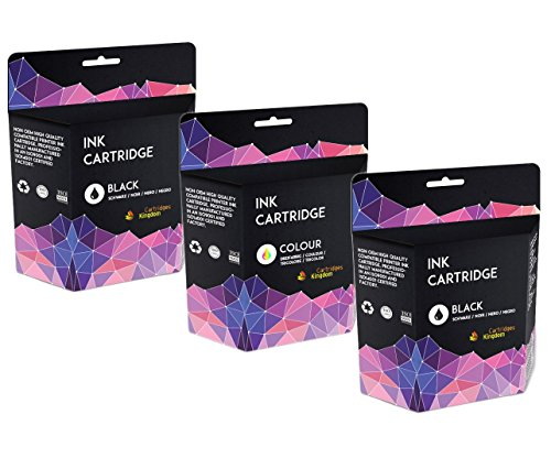 3 Druckerpatronen kompatibel für Canon PG-540XL CL-541XL Pixma MG4250 MG4150 MG3650 MG3550 MG3250 MG3150 MG2250 MG2150 MG3500 MG3600 MX455 MX475 MX515 MX525 MX535 MX375 MX395 MX435