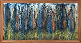 ORIGINAL Gemälde'Eight Notes' 106 x 56 cm
