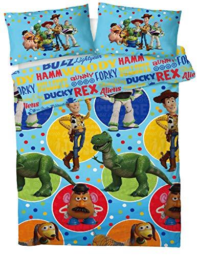 Disney® Toy Story - Juego de funda de edredón para cama de matrimonio