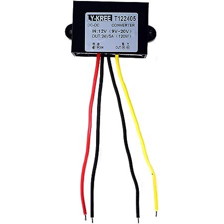 Dc 12v Auf 24v Spannungswandler 5a 120w Auto Netzteil Elektronik