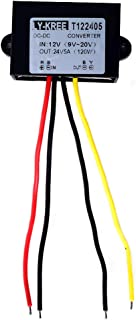 Cocar LKW Netzteil Spannungswandler 24v auf 12v 20A 240W Transformator Trafo Adapter Wandler Konverter for Motor Auto PKW Kfz Boot Sonnensystem DC15-40V Breit Eingang