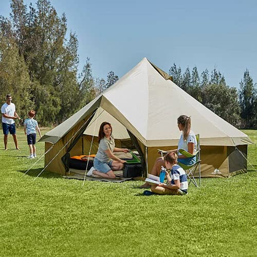 Ozark Trail YURT TENT,8 MAN,FESTIVAL TENT,BELL TENT,GLAMPING TENT,CAMPING TENT 8 PERSON (396, 8...