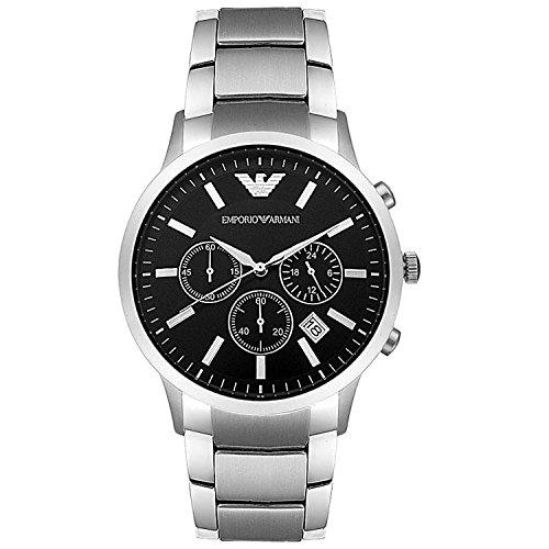 エンポリオアルマーニEMPORIOARMANIクロノクオーツメンズ腕時計AR2434[並行輸入品]