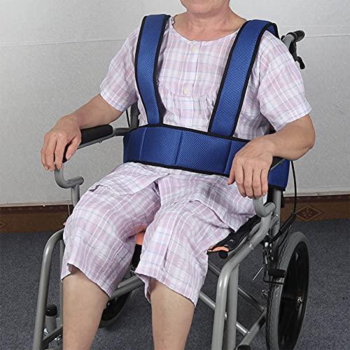 SUMBITOD Cinturón de Silla de Ruedas, el cinturón Abdominal para la sujeción de la Silla de Ruedas y la Pelvis, se utilizan para cuidar a los Pacientes, hogar de Ancianos
