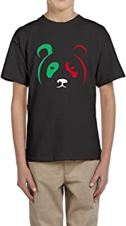 Teenagers Crew-neck T-shirt Lakers Metta World Peace Panda's Friend Tee