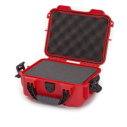 Nanuk 904 Waterproof Hard Case with Foam Insert  Red